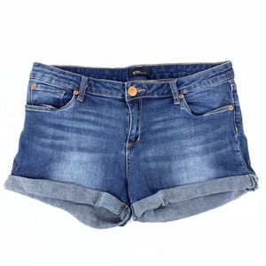 STS Blue Cuffed Denim Shorts